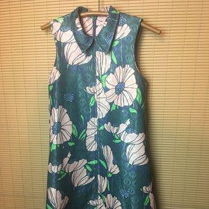 NWT H&M VTG inspired 60s floral Babydoll Dress